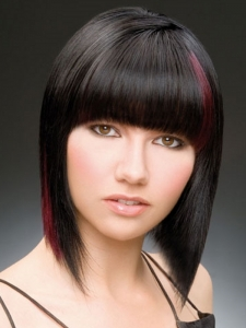 Sleek Medium Bob Hair Style