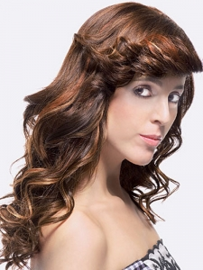 Flirty Long Hair Highlights