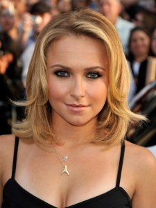 Hayden Panettiere's Long Bob Hairstyle