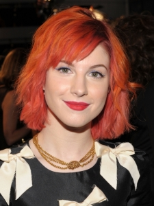 Hayley Williams Red Bob Haircut