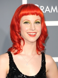 Hayley Williams Hairstyle at the 2011 Grammy Awards