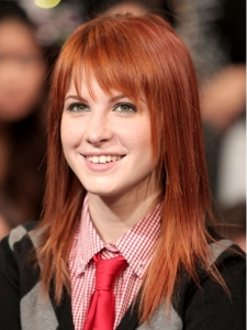 Hayley Williams with Layered Haircut