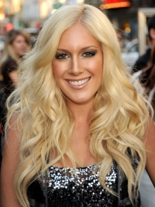 Heidi Montag Long Wavy Hairstyle