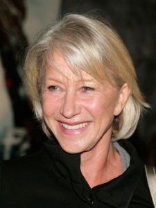 Helen Mirren's Layered Bob Haircut