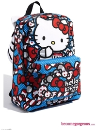 Hello Kitty Hooded Backpack