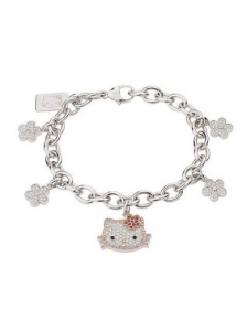 Hello Kitty Sterling Charm Bracelet