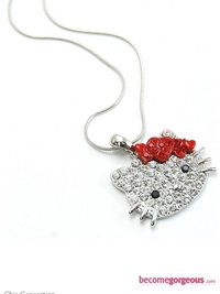 Lovely Hello Kitty Necklace