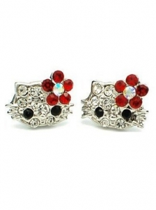 Hello Kitty Stud Earrings