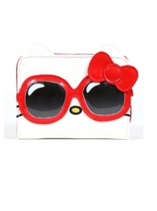 Hello Kitty Red Sunglasses Mini Wallet