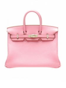 Hermes Birkin Pink Togo Leather Bag