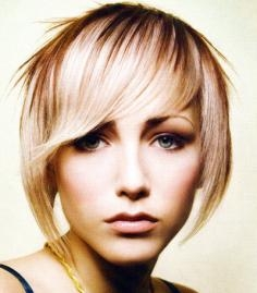 Blonde with Caramel Highlights