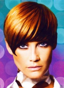 Two Colored Short Hairstyle