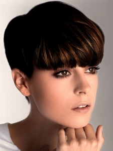 Girly Short Pixie Hair Style