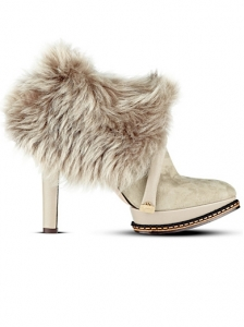 Hugo Boss Fur Ankle Safira Boots