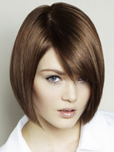 Medium Flirty Bob Hair Style