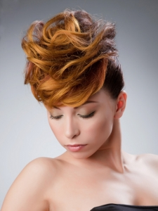 Ginger Hair Highlights Idea
