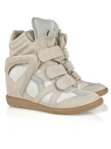 Isabel Marant High Top Wedge Sneakers