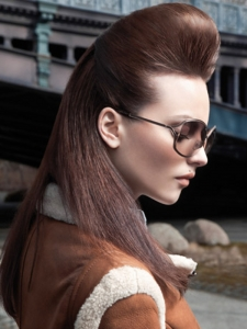 Gorgeous Long Quiff Hairstyle