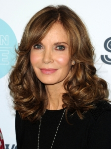 Jaclyn Smith Glossy Brunette Hairstyle