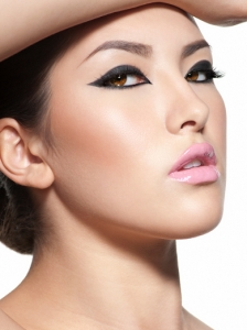 Dapper Cat Eye Makeup
