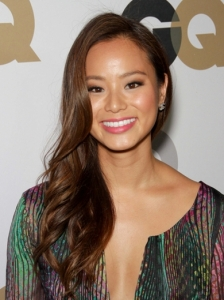 Jamie Chung Side Swept Waves