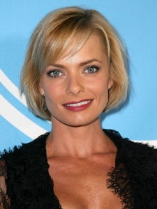 Jaime Pressly Bob with Bangs Hairstyle