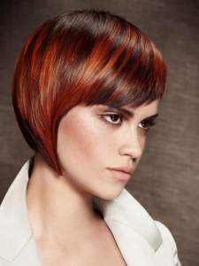 Modern Medium Haircut Idea