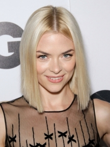 Jamie King Sleek Blunt Bob Hairstyle