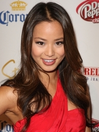 Jamie Chung with Long Wavy Hairstyle