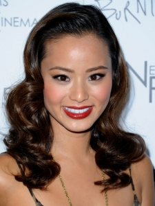 Jamie Chung Old Hollywood Waves