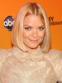 Jamie King Blunt Bob Hairstyle