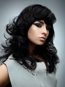 Long Fine Layered Hair Style