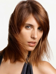 Medium Soft Layered Hairstyle