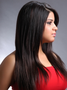 Black Long Layered Hair Style