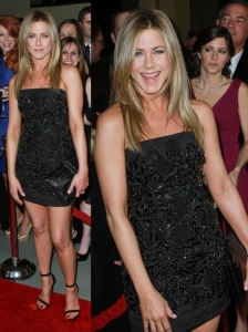 Jennifer Aniston in Dolce & Gabbana LBD