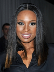 Jennifer Hudson Straight Middle Part Hairstyle
