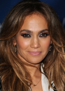 Jennifer Lopez Copper Eye Makeup