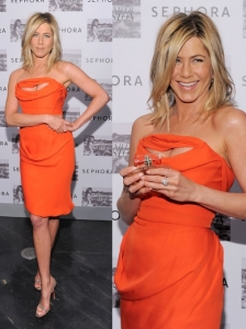 Jennifer Aniston in Vivienne Westwood Dress
