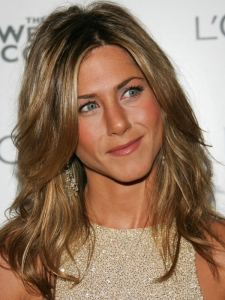 Jennifer Aniston's Layered Wavy Hairstyle