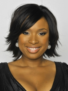 Jennifer Hudson's Choppy Layered Bob