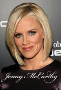 Jenny McCarthy with Long Bob