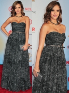 Jessica Alba in Michael Kors Gown