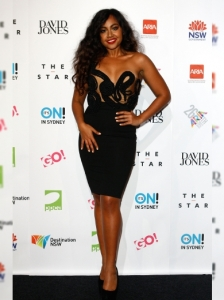 Jessica Mauboy at the 2012 ARIA Awards