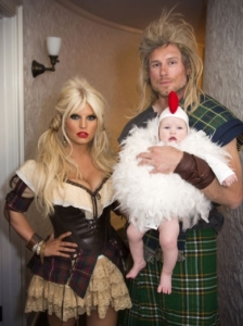 Jessica Simpson as Medieval Wench