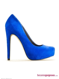Jessica Simpson Blue Landy Pumps