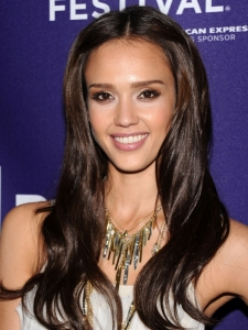 Jessica Alba Long Hair with Extensions