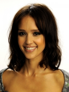 Jessica Alba Long Bob Hairstyle