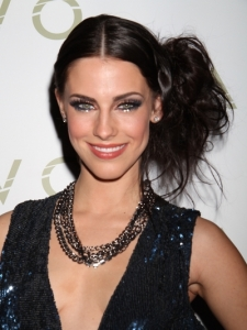 Jessica Lowndes Teased Side Pony Hairstyle