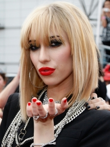 Jessica Origliasso Blonde Bob with Bangs