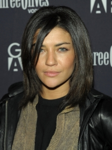 Jessica Szohr Neck-length Bob Hairstyle